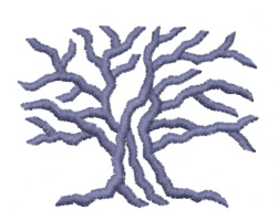 Trees 41 embroidery design