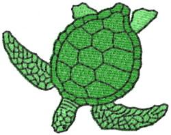 Turtle 7 embroidery design