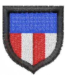 USA Shield 1 embroidery design
