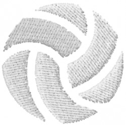 Volleyball 11 embroidery design