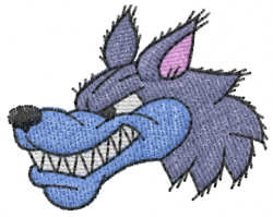 Wolf 1 embroidery design