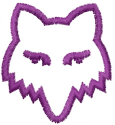 Wolf 6 embroidery design