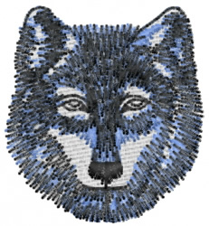 Wolf 7 embroidery design
