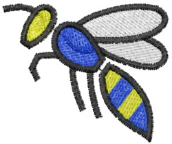 Wasp 14 embroidery design