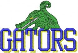 GATORS embroidery design