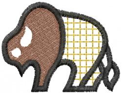 Buffalo Checked embroidery design