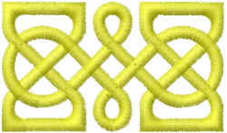 Celtic Design 46 embroidery design