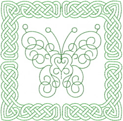 Celtic Knot Square 22 embroidery design