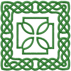Celtic Knot Square 42 embroidery design