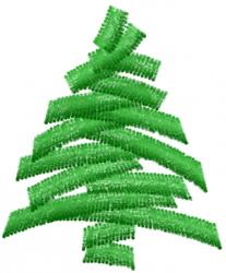Christmas Tree 1 embroidery design
