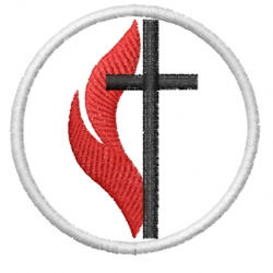 METHODIST CROSS embroidery design