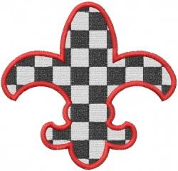 CHECKERBOARD embroidery design