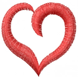 Heart 9 embroidery design