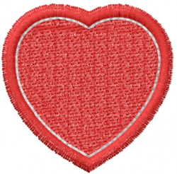 Heart 31 embroidery design