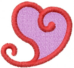 Heart 38 embroidery design