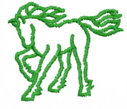 Horse 4 embroidery design
