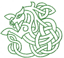 Horse 5 embroidery design