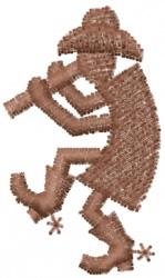 Kokopelli 6 embroidery design