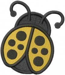 BIG LADYBUG embroidery design