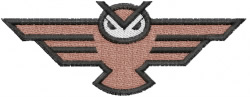 Owl 15 embroidery design