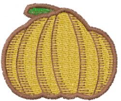 Pumpkin 8 embroidery design