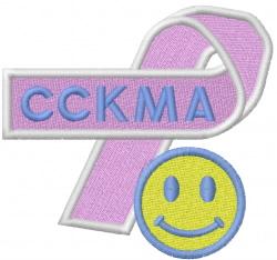 CCKMA embroidery design