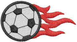 Soccer 13 embroidery design