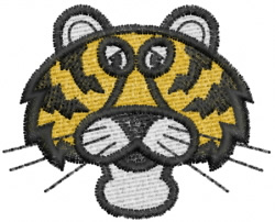 Tiger 1 embroidery design