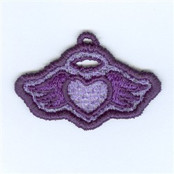 Angel Lace Charm embroidery design