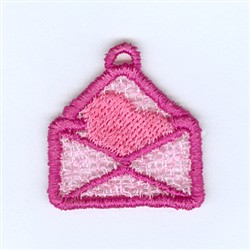 Envelope Lace Charm embroidery design