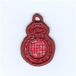 Ring Lace Charm embroidery design