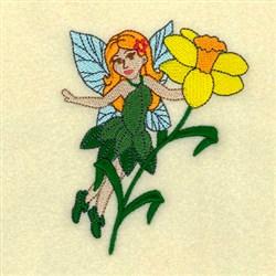 Daffodil Fairy embroidery design
