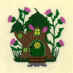 Irish Fairy Cottage 4 embroidery design