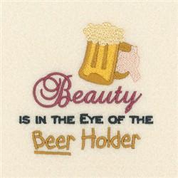 Beer Holder embroidery design