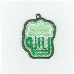 Irish Beer Charm embroidery design
