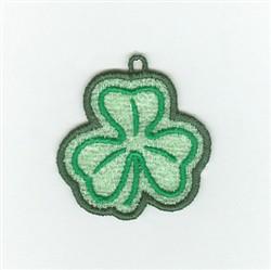 Irish Shamrock Charm embroidery design