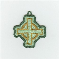 Irish Cross Charm embroidery design