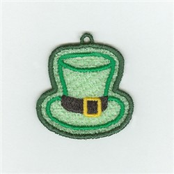 Irish Hat Charm embroidery design