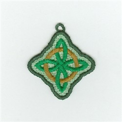 Irish Knot Charm embroidery design