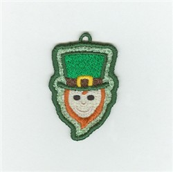Irish Leprechaun Charm embroidery design