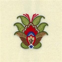 Alberta Rosemaling embroidery design