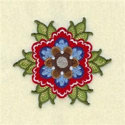 Caspian Rosemaling embroidery design