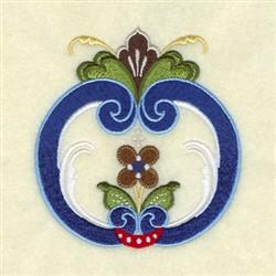 Douglas Rosemaling embroidery design