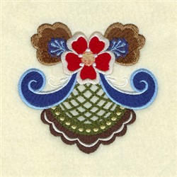 George Rosemaling embroidery design