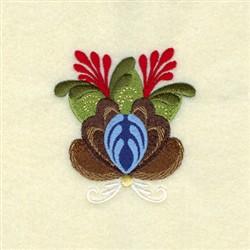 Jasper Rosemaling embroidery design