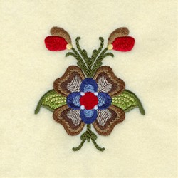 Lucille Rosemaling embroidery design