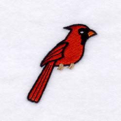 Cardinals Mascot embroidery design