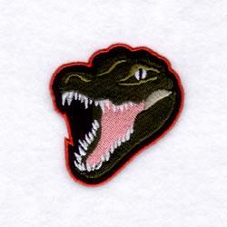 Gators Mascot embroidery design