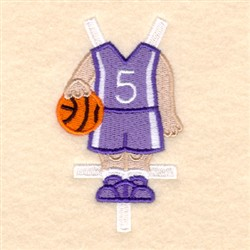 Bens Basketball Uniform embroidery design