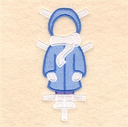 Lucys Winter Coat embroidery design
